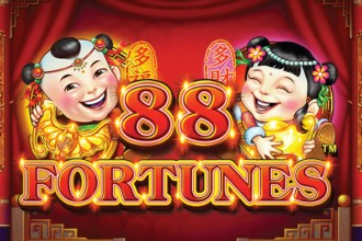 88 Fortunes Slot Review Logo