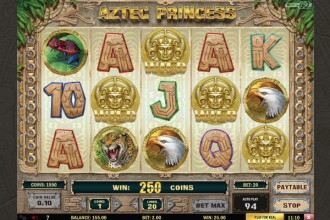 Aztec Princess Slot Game
