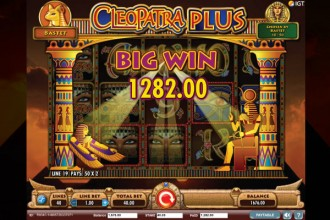 Cleopatra Plus Online Slot Big Win