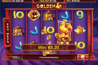 Golden Online Slot Free Spins