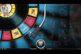 Guns N Roses Slot Crowd Bonus Wheel