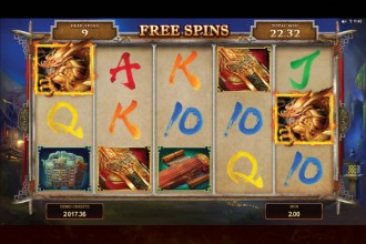 Huangdi Online Slot Free Spins Win