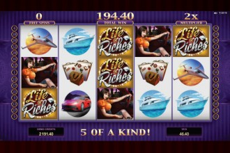 Life Of Riches Slot Free Spins Win