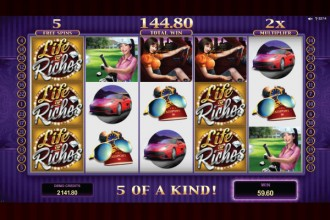 Life Of Riches Slot Stacked Wilds