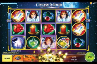 Gypsy Moon Slot Big Base Game Win
