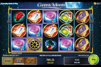 Gypsy Moon Slot Free Spins Win