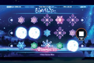 Snowflakes Slot Win