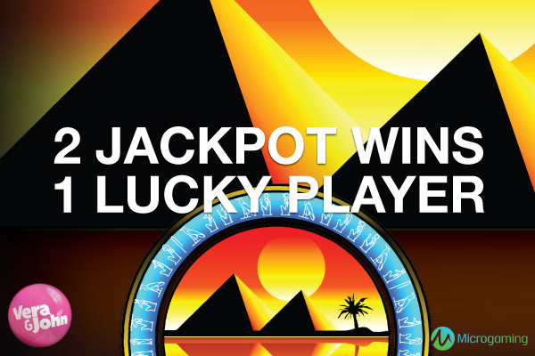Vera&John Swedish Slots Player Wins 2 Jackpots
