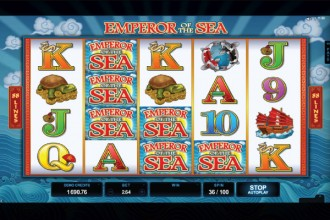 Emperor of the Sea Slot Stacked Wilds