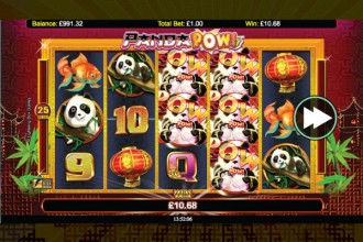 Panda Pow Slot Stacked Wilds