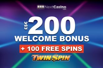 Get Your NextCasino Free Spins Bonus On Twin Spin