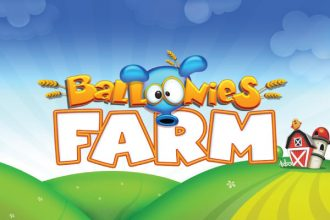 Balloonies Farm Slot Logo