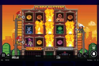 Flame Busters Slot Fire Drill Feature