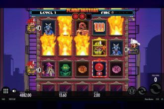 Flame Busters Slot Fire Free Spins