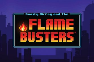 Flame Busters Slot Logo