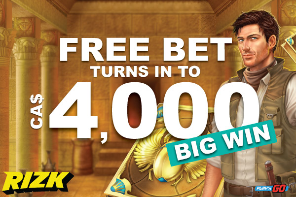 Free Bet Turns In To 4K Big Casino Win