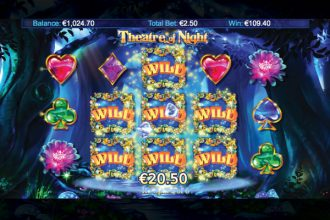 Theatre Of Night Slot Free Spins Wilds