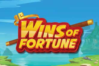 Wins of Fortune Online Slot Logo