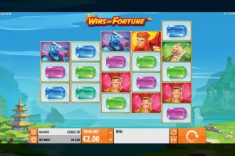 Wins of Fortune Online Slot Machine