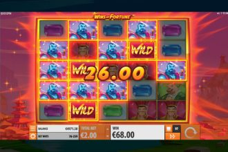 Wins of Fortune Online Slot Super Respin