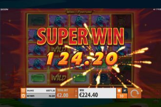 Wins of Fortune Online Slot Super Win