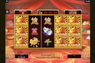 Fortune Girl Slot Free Spins Scatters
