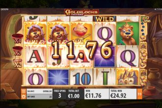 Goldilocks Slot Free Spins Wilds Wins