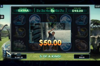 Jurassic World Slot Free Spins With Multipliers