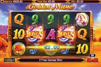 Golden Mane Slot Bonus Scatters