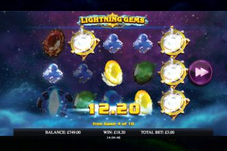 Lightning Gems Slot Free Spins