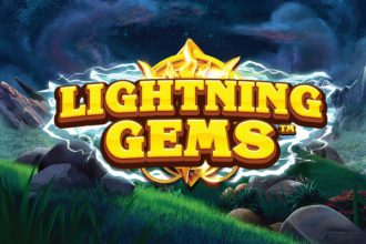 Lightning Gems Slot Logo