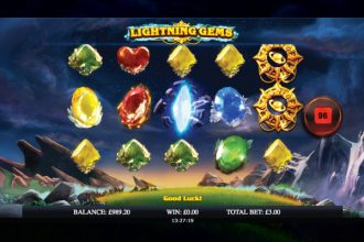 Lightning Gems Slot Machine Online