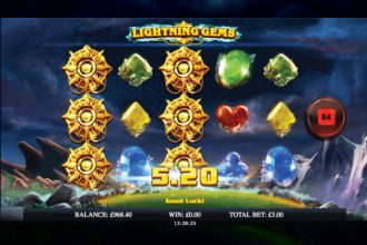Lightning Gems Slot Wilds