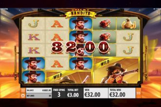 Sticky Bandits Slot Free Spins Win