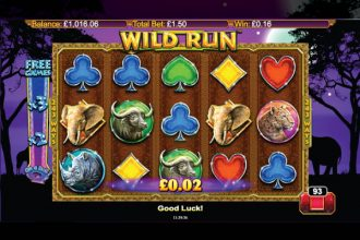 Wild Run Slot Free Spins Start
