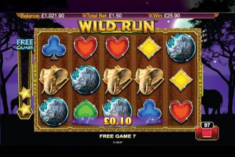 Wild Run Slot Free Spins