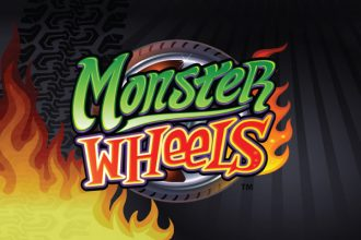 Monster Wheels Slot Logo
