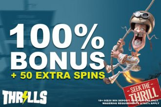 New Thrills Casino Slots Bonus With Extra Spins