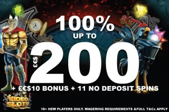 Video Slots Casino Bonus Offer + No Deposit Bonus