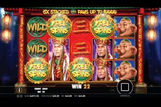 Journey To The West Slot Free Spins Bonus Trigger