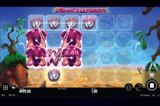 Pink Elephants Online Slot Machine
