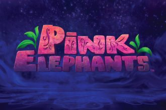Pink Elephants Slot Logo