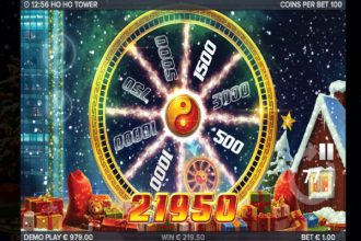 Ho Ho Tower Slot Bonus Wheel