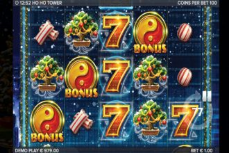 Ho Ho Tower Slot Game Scatters