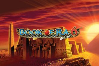 Book of Ra Deluxe 6 Slot Logo