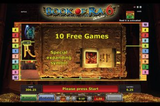 Book of Ra Deluxe 6 Slot Free Games Scatters