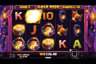 Gold Rush Slot Free Spins Level 2