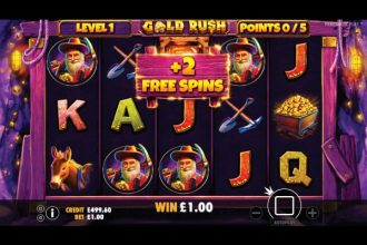 Gold Rush Slot With Free Spins