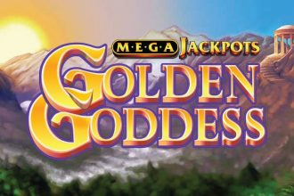 MegaJackpots Golden Goddess Slot Logo