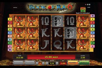 Novomatic Book of Ra Deluxe 6 Slot Free Spins
